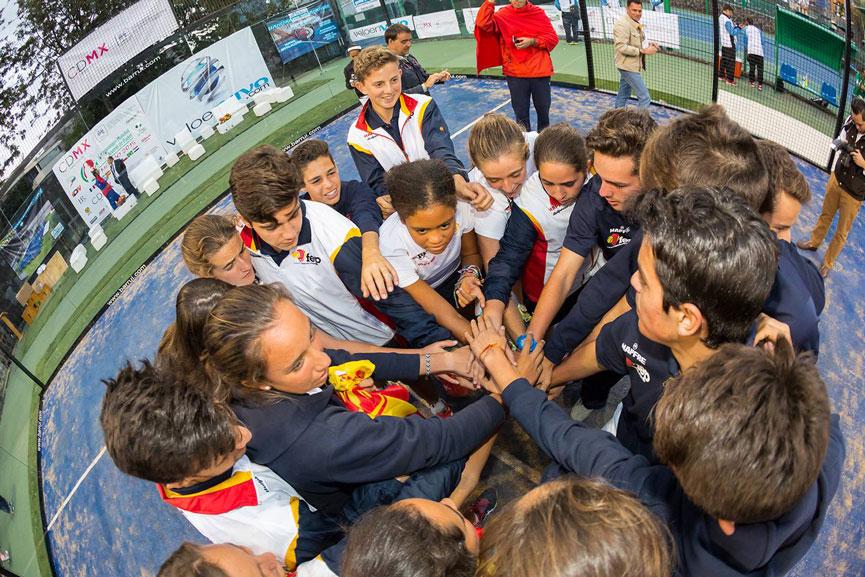 equipo-espana-mundial-padel-menores-2015-mexico