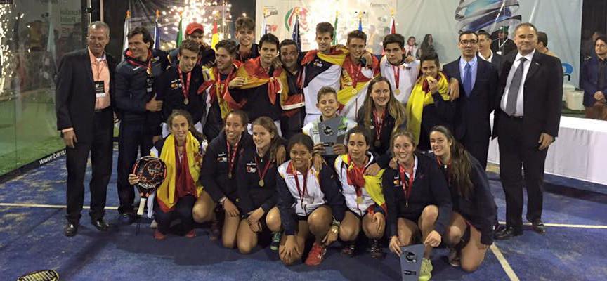 Mundial de Padel de Menores 2015: España arrasa en México