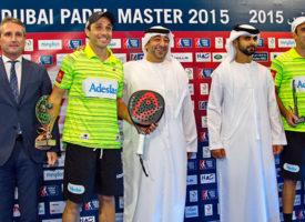 Gran triunfo de Fernando Belasteguin y Pablo Lima en Dubai que extiende su dominio a tres continentes