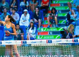 Las gemelas Sánchez Alayeto muestran su coraje para ganar en Dubai su séptimo título de 2015