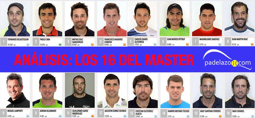 Análisis Estrella Damm Master Final 2015: lo mejor y lo peor de las ocho mejores parejas masculinas