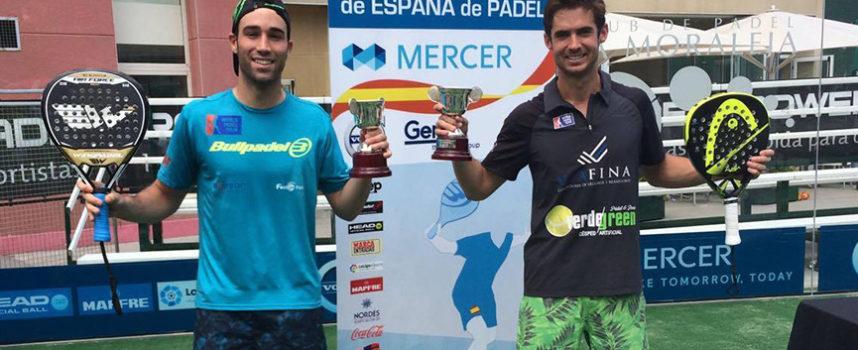 Gonzalo Rubio y Javi Ruiz asaltan al abordaje la final masculina del Campeonato de España de Padel 2016