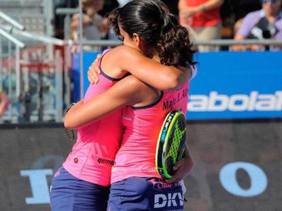 Las gemelas Sánchez Alayeto conquistan su sengundo título del año tras un triunfo express en Valladolid