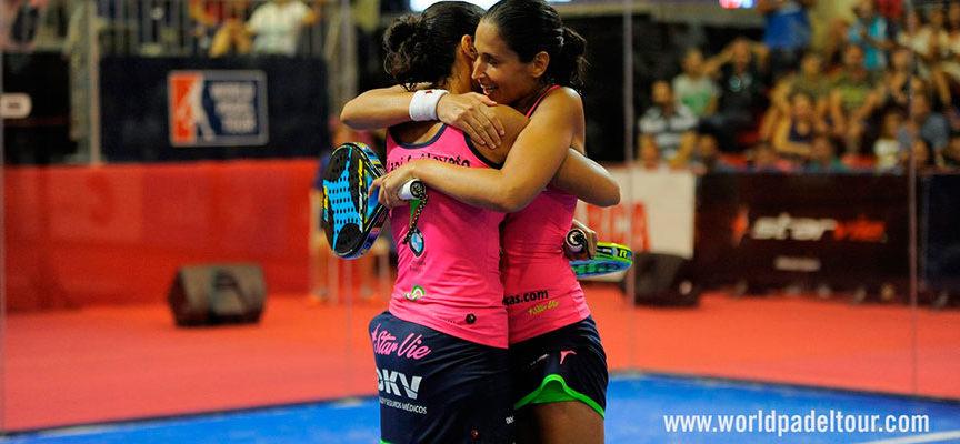 Las gemelas Sánchez Alayeto repiten marcador en La Nucía para conquistar su tercer título consecutivo