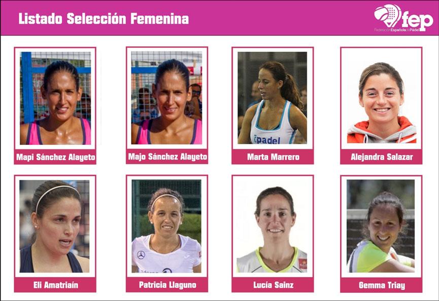 seleccion-femenina-espana-mundial-padel-2016