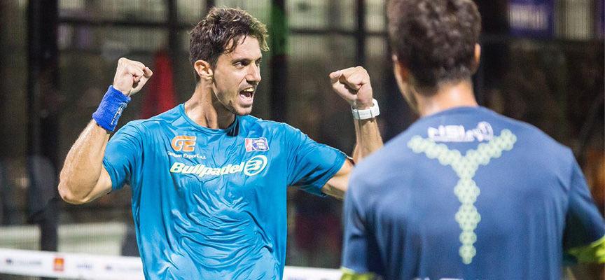 El atrevimiento de Miguel Ángel Solbes y Cristian Fuster decanta un duelo de infarto ante Ernesto y Sanyito en Mijas