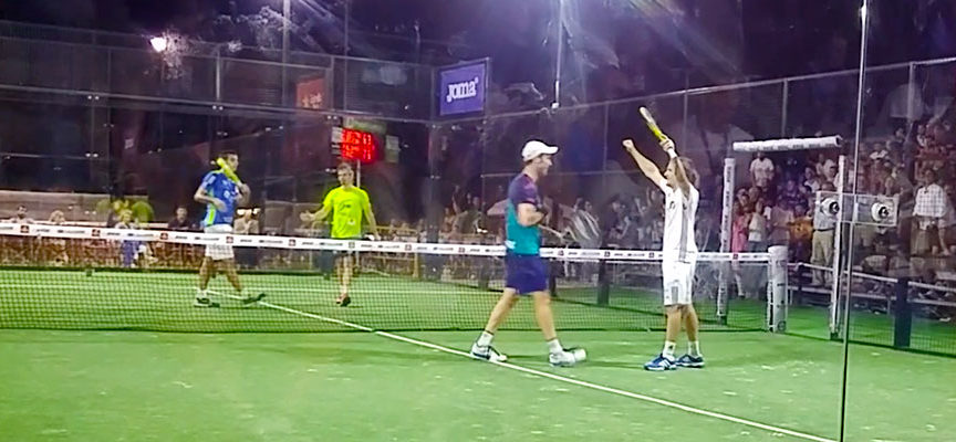 Javi Ruiz y Peter Alonso-Martínez aprovechan su opción para superar la semifinal del Challenger de Mijas