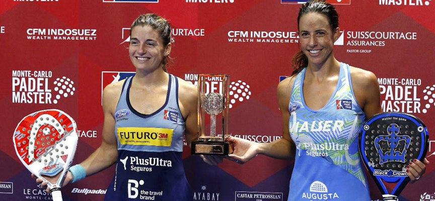 Un ciclón de padel corona a Ale Salazar y Marta Marrero como las primeras maestras en Monte-Carlo