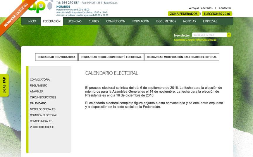calendario-elecciones-fap-2016