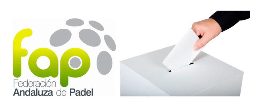 Suspendidas las elecciones de la Federación Andaluza de Padel