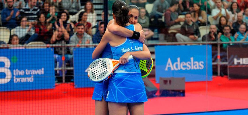 Las gemelas Sánchez Alayeto imponen su plan en la accidentada final femenina de A Coruña
