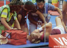 La fatalidad destroza el espectáculo en las finales del Valladolid Open 2017