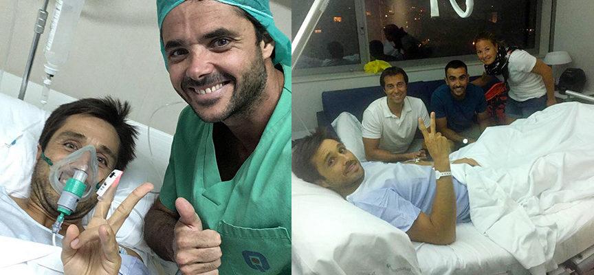 El Open de Mijas se queda sin los números uno: Fernando Belasteguin, operado de la rodilla