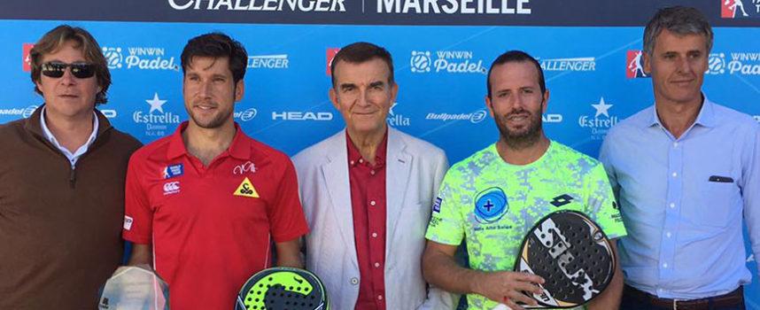 Marsella corona la constancia de Nacho Gadea y Germán Tamame en el 7º Challenger de World Padel Tour