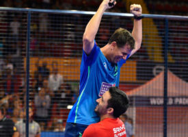 Paquito Navarro y Sanyo Gutiérrez conquistan Sevilla con una exhibición arrolladora ante los números uno