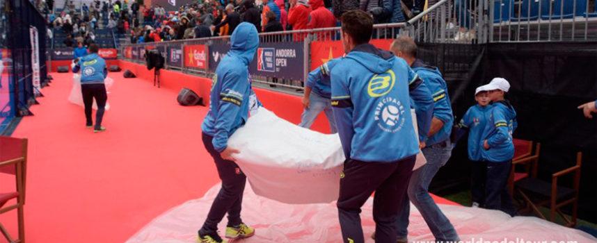 World Padel Tour aplaza la final masculina de Andorra y descubre sus deficiencias organizativas