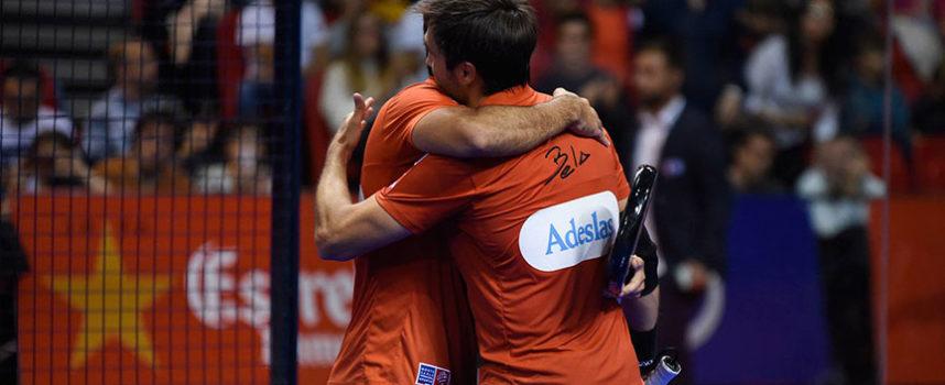 La consistencia de Fernando Belasteguin y Pablo Lima aplasta la emoción y les lleva al título en Zaragoza
