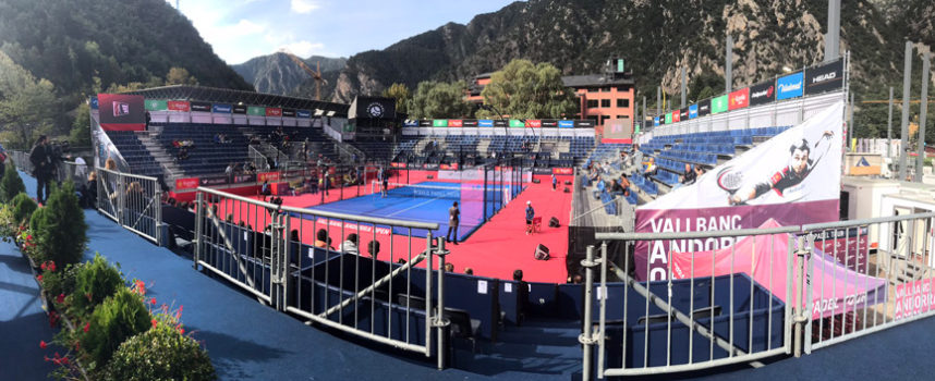 Una final sin espectadores: incidencias y decisiones para el caos en el Open de Andorra