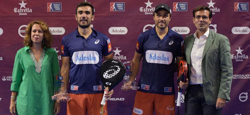 Pablo Lima y Fernando Belasteguin suman su quinto título de 2017 en Granada y resisten el asalto a su corona