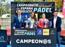 Magüi Serna y Mari Carmen Díaz dejan en casa el título de campeonas de España de Padel 2018