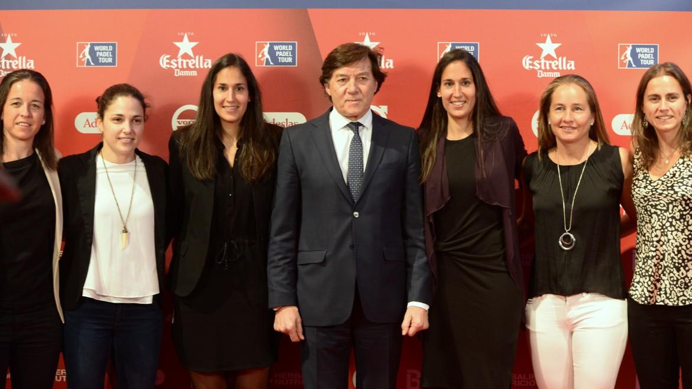 presentacion world padel tour 2018 femenino