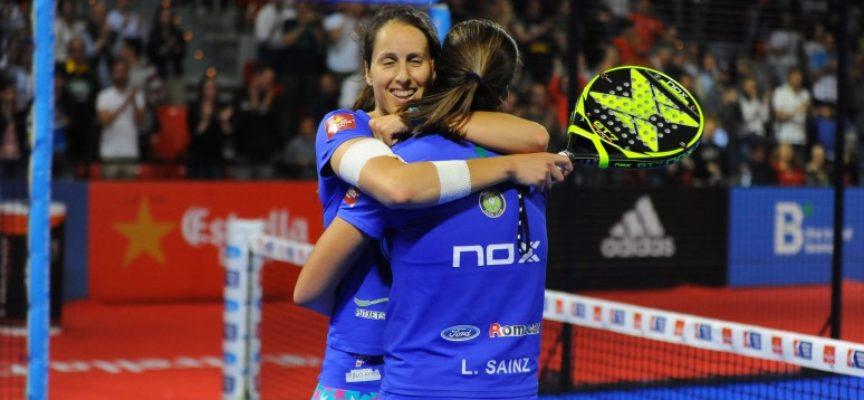 Una gesta épica de Gemma Triay y Lucía Sainz les eleva al triunfo en la final del Estrella Damm Zaragoza Open 2018