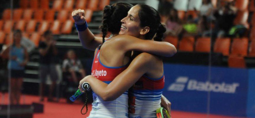 Las gemelas Sánchez Alayeto reivindican su estilo con un gran triunfo en el Estrella Damm Valencia Master 2018