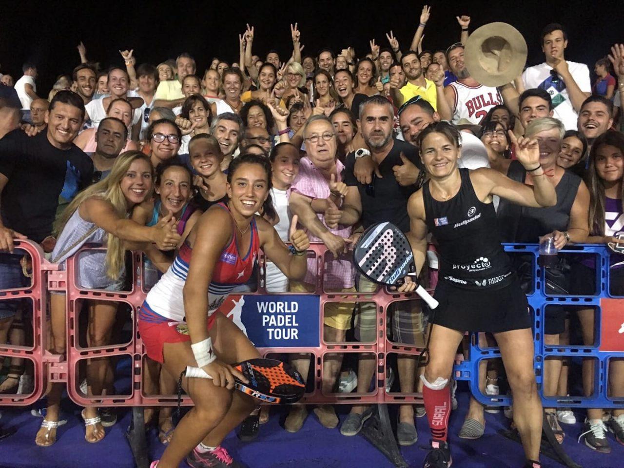 bea gonzalez y cata tenorio octavos final cervezas victoria mijas open 2018