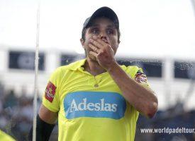 Belasteguin será baja en Andorra: Lima elige a Jardim para defender el número uno
