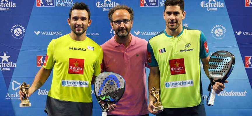Maxi Sánchez y Sanyo Gutiérrez remontan en Andorra para sumar el quinto título de 2018