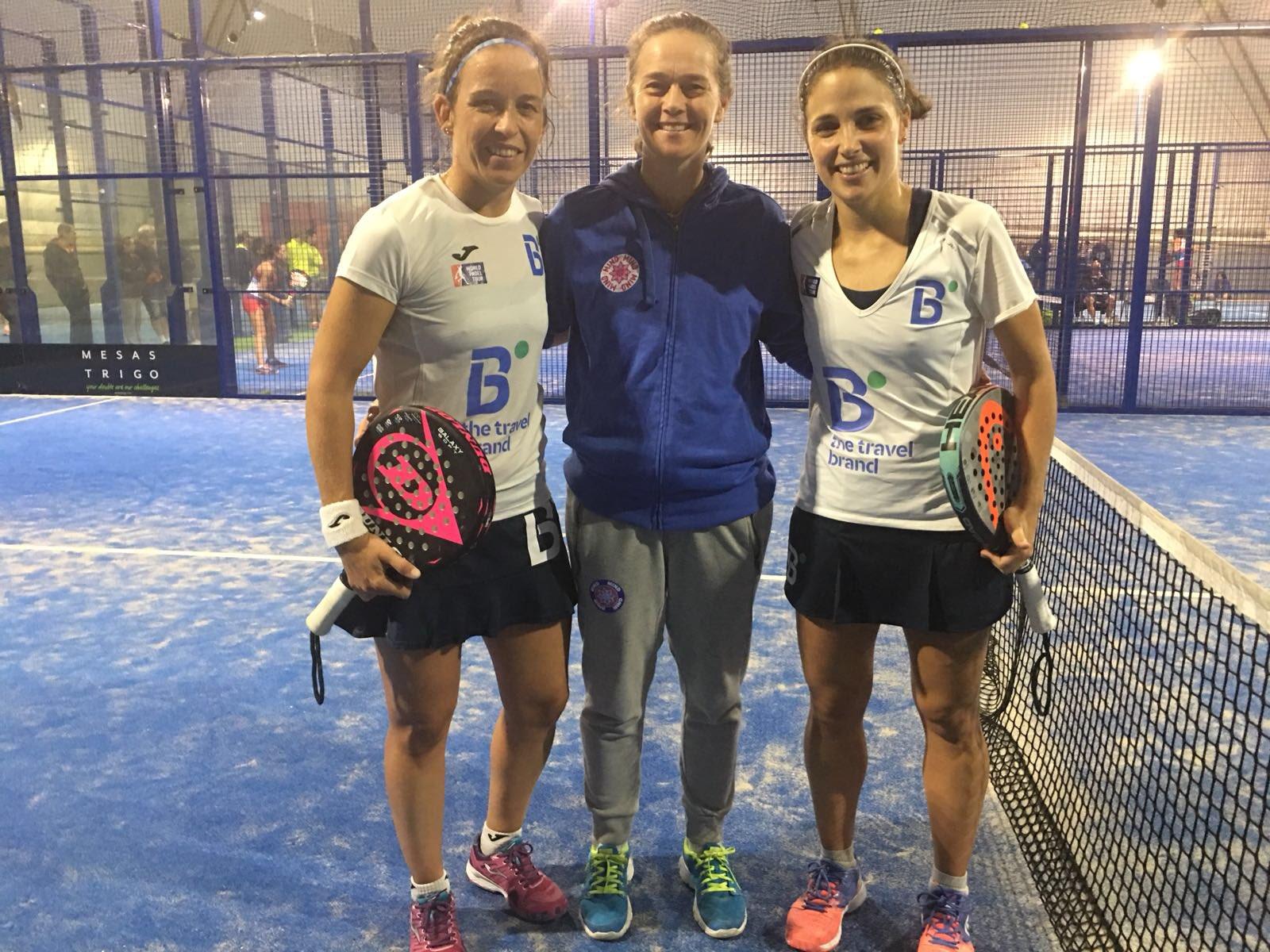 patty llaguno y eli amatriain dieciseisavos final wpt andorra open 2018