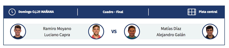 Horario Final Masculina WPT Lugo Open 2018