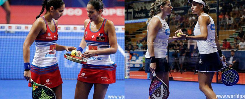 Semifinales Femeninas WPT Lugo Open 2018: Repóker para las número uno o revancha para la pareja 3