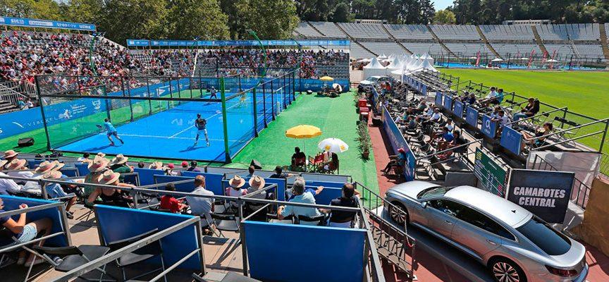 Semifinales masculinas WPT Portugal Padel Masters 2018: el accidente de Paquito hace estallar el espectáculo