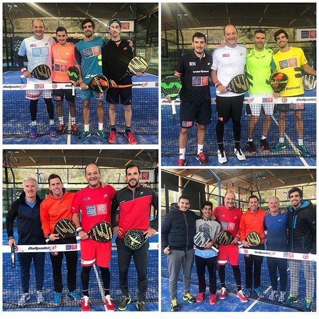 Fabrice Pastor con varios jugadores patrocinados por Monte Carlo International Sports