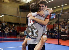 Final masculina WPT Granada Open 2018: Franco Stupaczuk y Cristian Gutiérrez deshacen a los números uno