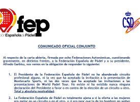 La Directiva de Garbisu responde a los críticos: ¿Quién miente en la Guerra por la FEP?
