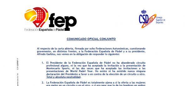 respuesta-fep-comunicado-federaciones-territoriales-criticas