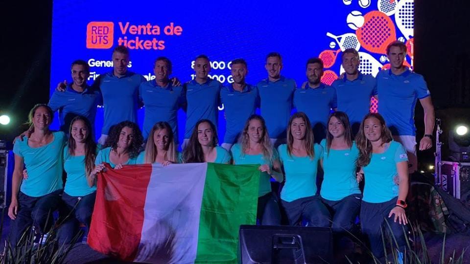 seleccion italia mundial padel 2018