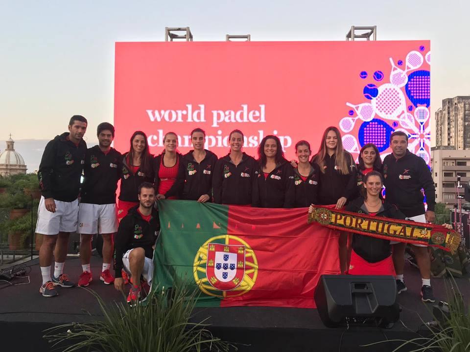 seleccion portugal mundial padel 2018