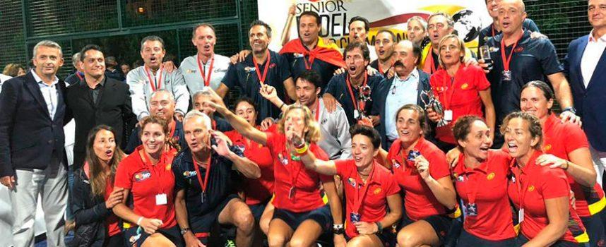 Mundial de Padel Senior 2018: España impone la tiranía de su talento