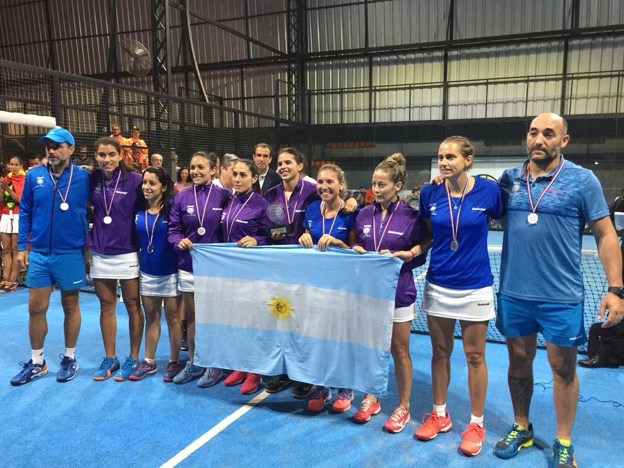 jugadoras argentinas mundial padel 2018