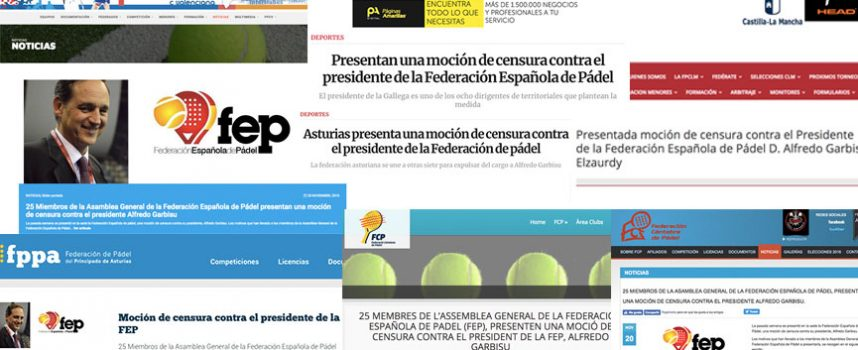 Moción de censura en la FEP: estrechan el cerco sobre Alfredo Garbisu