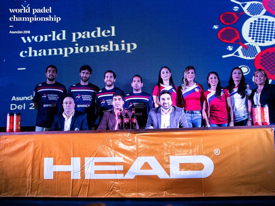 presentacion mundial padel federacion paraguay 2018