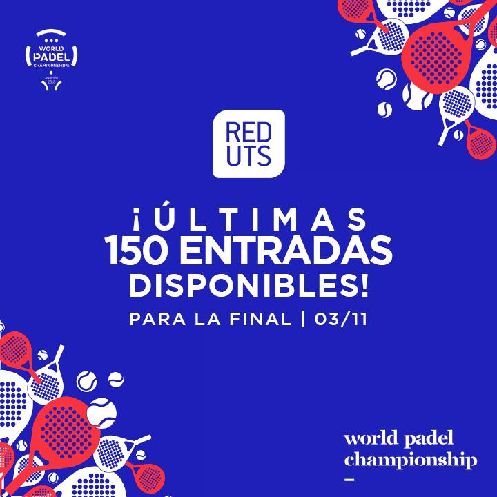 venta entradas finales mundial padel 2018