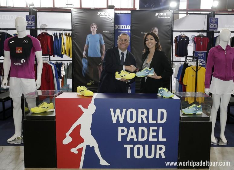 acuerdo joma patrocinadores world padel tou 2019