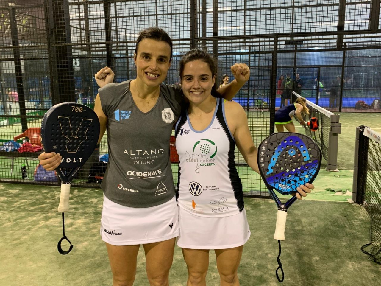 ana catarina nogueira y paula josemaria primera ronda cuadro femenino wpt marbella master 2019