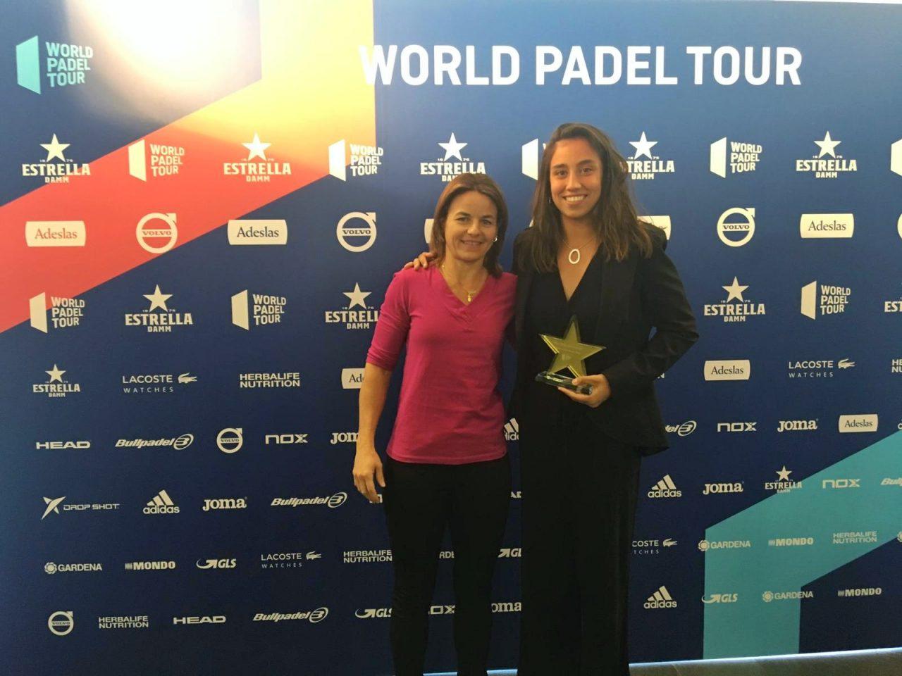 bea gonzalez premio jugadora revelacion world padel tour 2018