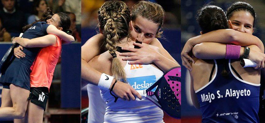 Emociones desatadas en los cuartos de final femeninos de Marbella