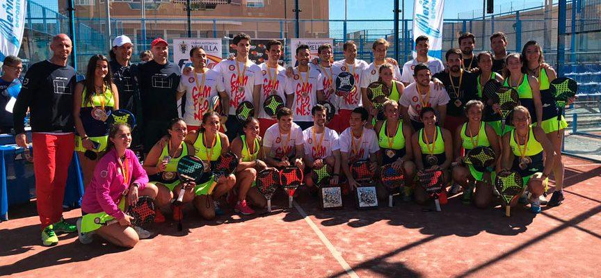 Campeonato de España de Padel por Equipos de 1ª 2019: Doblete del Equipo Damm en Melilla